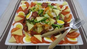 Recette de crudités à base de légumes frais