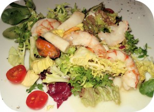 cuisine à base de poissons et fruits de mer