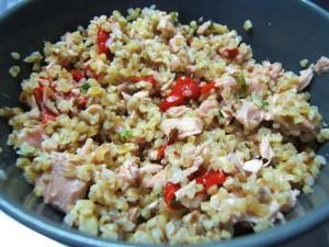 recette de cuisine taboulé au thon