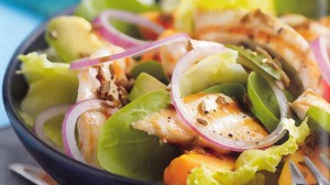 recette de salade agrumes et papaye avec avocat