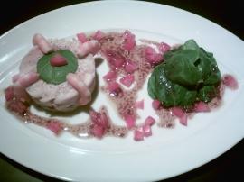 recette de salade poisson chaude de raie aux épinards