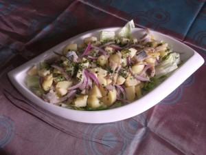 recette de poissons de hareng aux pâtes
