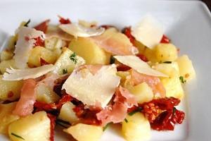 recette de cuisine aux pommes de terre façon italienne