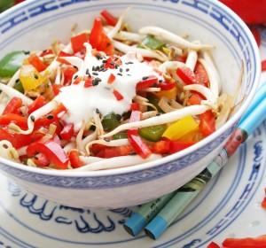 recette de cuisine crudité de soja