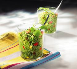 recette de cuisine au taboulé vert